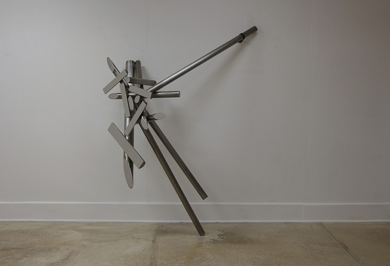 BETH DIANE ARMSTRONG, APPROACH TO PARALLELS -B 2017, STAINLESS STEEL